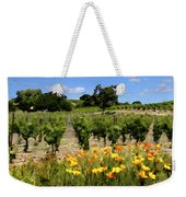 Pinot Noir And Poppies Weekender Tote Bag