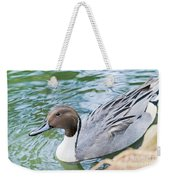 Pintail Portrait Weekender Tote Bag