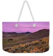 Pioneer Mountain Spring Weekender Tote Bag