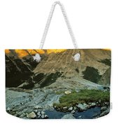 Pioneer Mountains Weekender Tote Bag