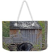Pioneer Water Mill Weekender Tote Bag by DigiArt Diaries by Vicky B Fuller