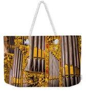 Pipe Organ Detail Weekender Tote Bag