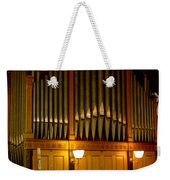 Pipe Organ Weekender Tote Bag