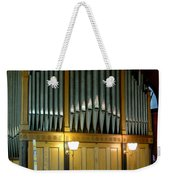 Pipe Organ Of Old Weekender Tote Bag