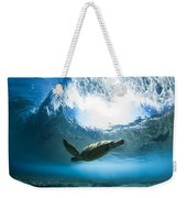Pipe Turtle Glide Weekender Tote Bag
