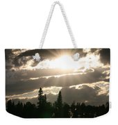 Piprell Lake Saskatchewan Weekender Tote Bag