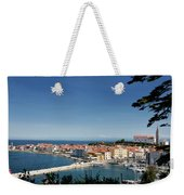 Piran Slovenia Gulf Of Trieste On The Adriatic Sea From The Punt Weekender Tote Bag