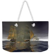 Pirate Attack Weekender Tote Bag