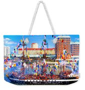Pirate Colors Weekender Tote Bag