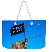 Pirate Flag And Moon Weekender Tote Bag