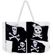 Pirate Flags Weekender Tote Bag by David Lee Thompson