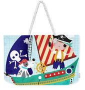 Pirate Of The Carribean Weekender Tote Bag