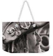 Pirate Profile Weekender Tote Bag