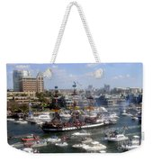 Pirate Ship And Flotilla Weekender Tote Bag