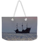 Pirate Ship At Clearwater Weekender Tote Bag