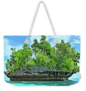 Pirate Ship Cay Weekender Tote Bag