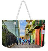 Pirate's Alley Wedding 2 - Paint Weekender Tote Bag