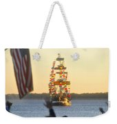 Pirate's Arrival Weekender Tote Bag