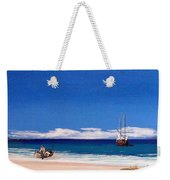Pirates On The Beach Weekender Tote Bag