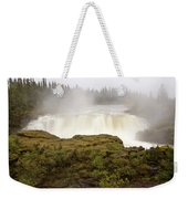 Pisew Falls Northern Manitoba Canada Weekender Tote Bag