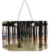 Pismo Beach Pier Weekender Tote Bag