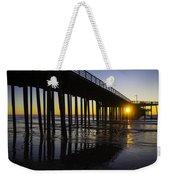 Pismo Sunset Wharf Weekender Tote Bag