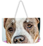 Pit Bull Dog - Pure Love Weekender Tote Bag