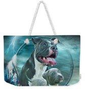 Pit Bulls - Rez Dog Weekender Tote Bag