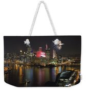 Pittsburgh 3 Weekender Tote Bag
