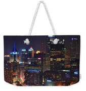 Pittsburgh Close Up From Above Weekender Tote Bag
