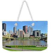 Pittsburgh From Just Outside Pnc Park Weekender Tote Bag