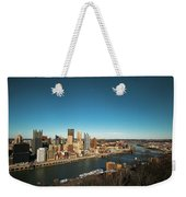 Pittsburgh Weekender Tote Bag