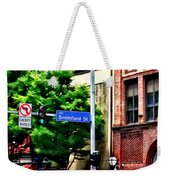 Pittsburgh Pa - Liberty Ave And Smithfield Street Weekender Tote Bag