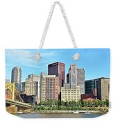 Pittsburgh Panorama June 2017 Weekender Tote Bag