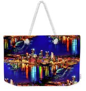 Pittsburgh Skyline Art Weekender Tote Bag