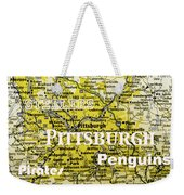 Pittsburgh Sports Weekender Tote Bag