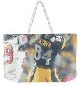 Pittsburgh Steelers Antonio Brown 2 Weekender Tote Bag