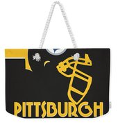 Pittsburgh Steelers Team Vintage Art Weekender Tote Bag