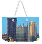 Pittsburghs Big Three Weekender Tote Bag