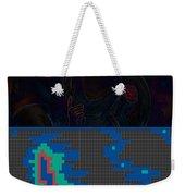 Pixel Painting Weekender Tote Bag