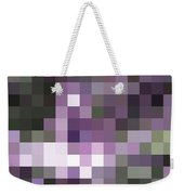 Pixelated Weekender Tote Bag