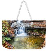 Pixley Falls State Park Lesser Falls Weekender Tote Bag