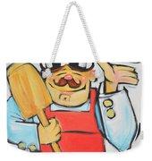 Pizza Chef Weekender Tote Bag