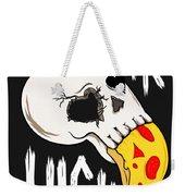 Pizza Skull Weekender Tote Bag