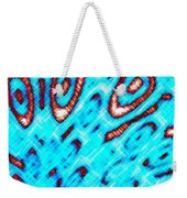 Pizzazz 6 Weekender Tote Bag