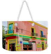 Pizzeria In La Boca Area Of Buenos Aires-argentina  Weekender Tote Bag