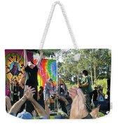 Pk Leads Jefferson Starship Photo Weekender Tote Bag