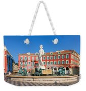 Place Massena Of Nice In France Weekender Tote Bag