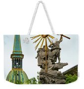 Plague Column And Saint Martin Cathedral Weekender Tote Bag