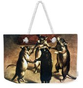 Plague: Dance Of The Rats Weekender Tote Bag